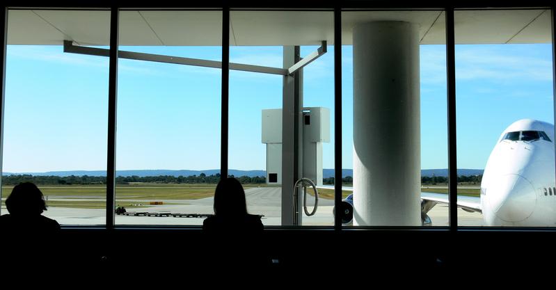 Awaiting Flight